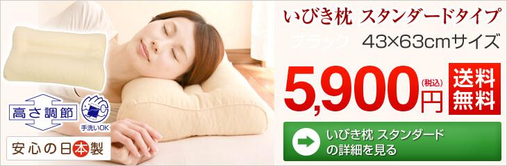 いびき 枕 いびき枕 まくら マクラ いびき防止 ピロー 送料無料 高さ調節可能 洗える 43 63 cm スタンダードのご購入はこちら