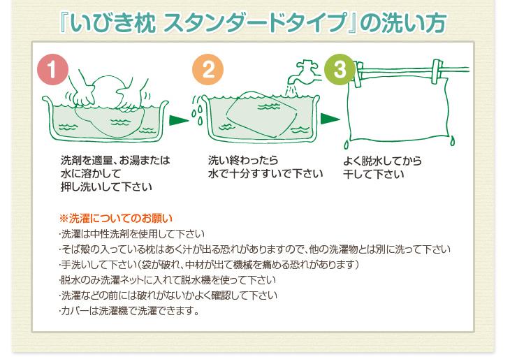 リビングインピースのいびき対応いびき枕の洗い方