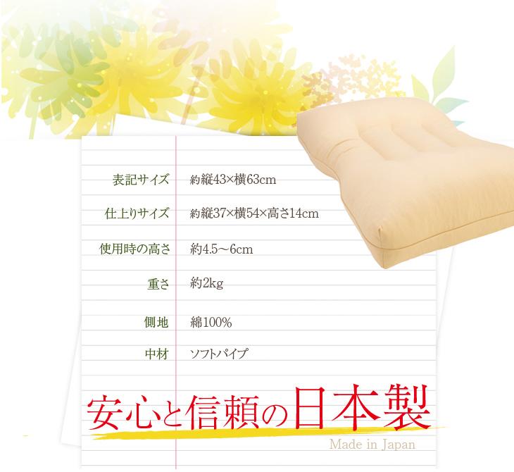 リビングインピースの寝返り対応ねがえり枕は安心と信頼の日本製